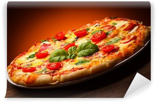 Vinylová Fototapeta Pizza