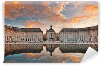 Fototapeta Winylowa Place de la Bourse w Bordeaux, Francja