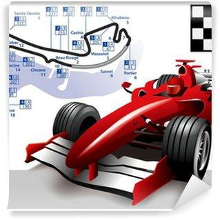 Vinylová Fototapeta Plakát Monaco Formula 1 Grand Prix