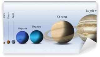 Vinylová Fototapeta Planety sluneční soustavy Full Size
