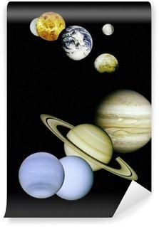 Vinylová Fototapeta Planety ve vesmíru.