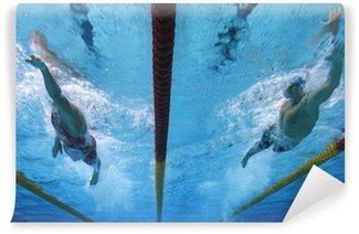 Vinylová Fototapeta Plavání akci 1