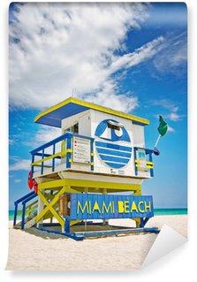 Vinylová Fototapeta Plavčík dům v Miami Beach, Florida, USA
