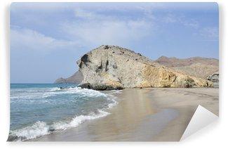 Vinylová Fototapeta Playa de Monsul, Cabo de Gata, Andalucía (España)