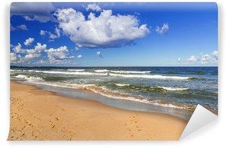 Vinylová Fototapeta Pláž u Baltského moře v Polsku