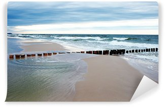 Fototapeta Vinylowa Plaża i błękitne morze
