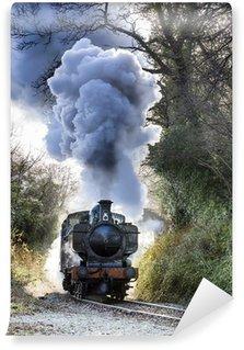 Fototapeta Winylowa Pociąg parowy