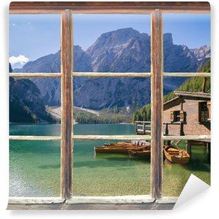 Vinylová Fototapeta Podívat z okna