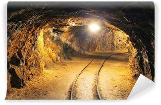 Vinylová Fototapeta Podzemní štoly, těžební průmysl