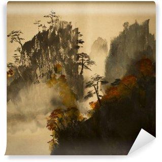 Vinylová Fototapeta Podzim v horách Číny