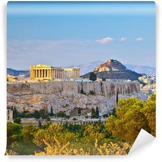 Vinylová Fototapeta Pohled na Akropoli v Aténách