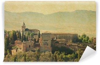 Vinylová Fototapeta Pohled na Alhambra z Albayzin Granada, Španělsko.