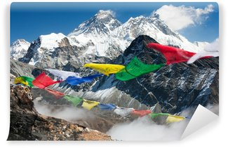 Vinylová Fototapeta Pohled na Everest z gokyo ri