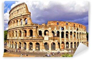 Vinylová Fototapeta Pohled na Koloseum, Řím, Itálie