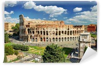 Vinylová Fototapeta Pohled na Koloseum v Římě