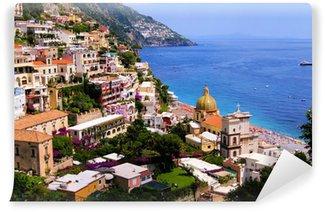 Vinylová Fototapeta Pohled na město Positano na pobřeží Amalfi v Itálii