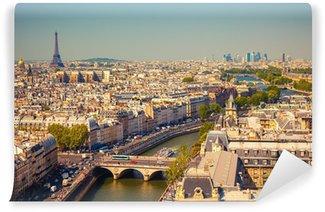 Vinylová Fototapeta Pohled na Paříž