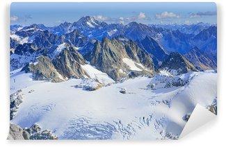 Vinylová Fototapeta Pohled ve švýcarských Alpách