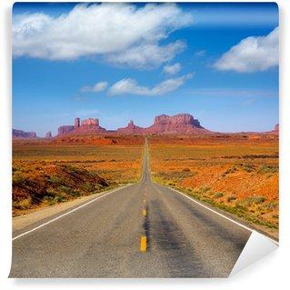 Vinylová Fototapeta Pohled z US 163 Scenic silnici do Monument Valley Utah