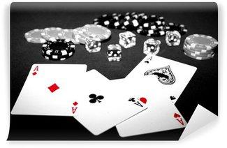 Vinylová Fototapeta Poker d'assi