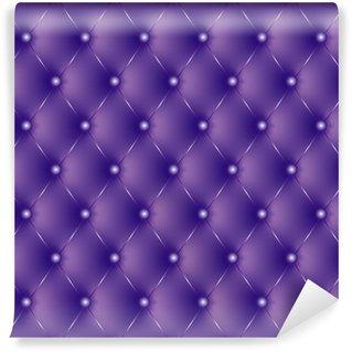 Vinylová Fototapeta Polstrované fialové knoflíky fialová-1