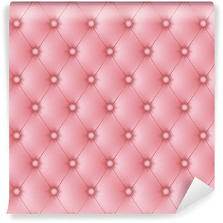 Vinylová Fototapeta Polstrované růžová růžová tlačítek-1