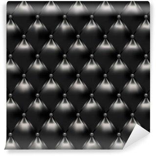 Vinylová Fototapeta Polstrovaný black-2