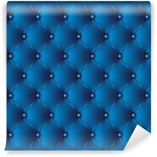 Vinylová Fototapeta Polstrovaný modrý 2