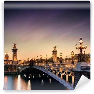 Vinylová Fototapeta Pont Alexandre III - Paříž