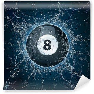 Vinylová Fototapeta Pool Billiard míč