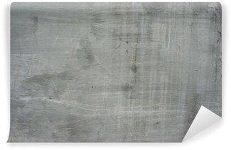 Vinylová Fototapeta Popraskané starý šedý cement betonová kamenná zeď vinobraní špinavý
