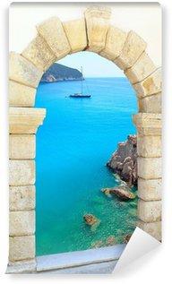 Vinylová Fototapeta Porto Katsiki pláž na ostrově Lefkada, Řecko