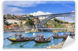 Vinylová Fototapeta Porto, Portugalsko Panoráma