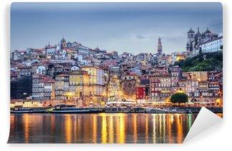 Vinylová Fototapeta Porto, Portugalsko přes řeku Douro