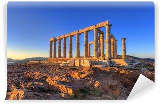 Vinylová Fototapeta Poseidon Temple, Cape Sounion, Řecko