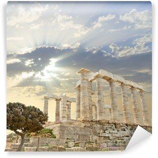 Vinylová Fototapeta Poseidon Temple