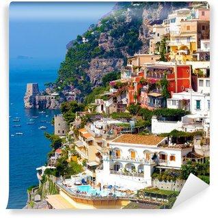 Vinylová Fototapeta Positano, Itálie. Amalfi Coast