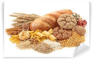 Vinylová Fototapeta Potraviny s vysokým obsahem sacharidů