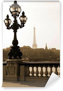 Vinylová Fototapeta Pouliční lampy na mostě Alexandre III v Paříži, Francie