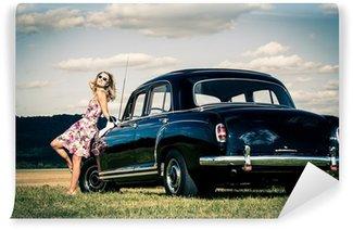 Vinylová Fototapeta Poválečný modelu Mercedes Ponton 220SE 1959 Yom