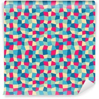 Fototapeta Winylowa Powtarzalny abstrakcyjny wzór geometryczny