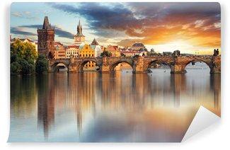 Vinylová Fototapeta Praha - Karlův most, Česká republika