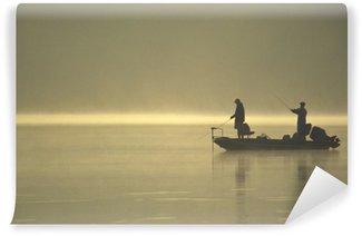 Vinylová Fototapeta Přátelé rybaření