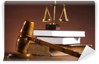 Fototapeta Winylowa Prawo i pojęcie sprawiedliwości