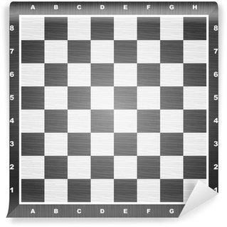 Vinylová Fototapeta Prázdný šachovnice
