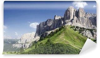 Vinylová Fototapeta Přehled Dolomity