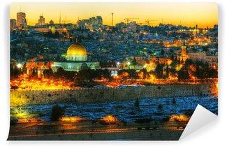Vinylová Fototapeta Přehled Starého města v Jeruzalémě, Izrael