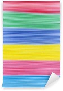 Vinylová Fototapeta Primární a sekundární barvy abstraktní rozostření pozadí pruhy.