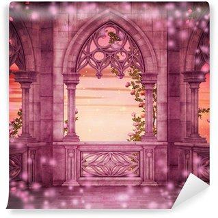 Vinylová Fototapeta Princess Castle Fantasy Kulisa