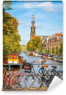 Fototapeta Winylowa Prinsengracht Canal w Amsterdamie